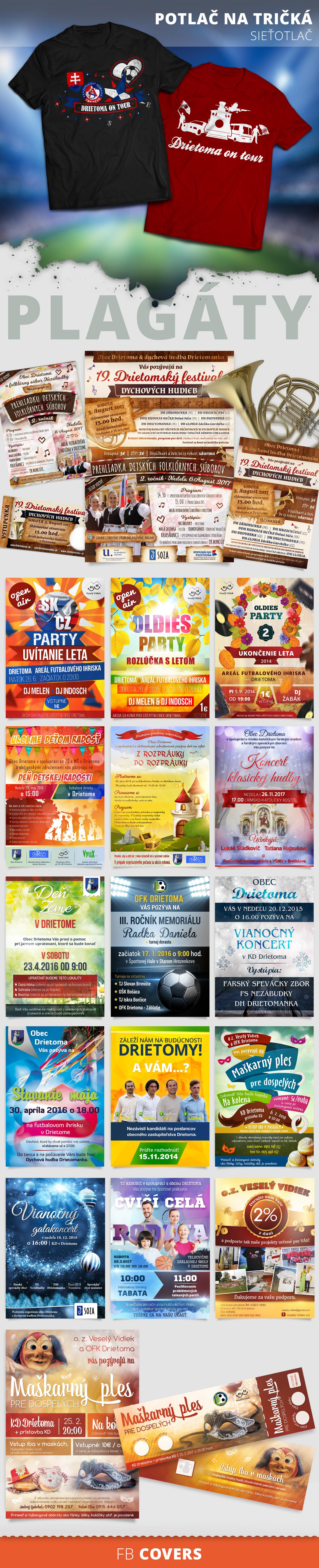 grafika pre obcianske zdruzenie, graficke navrhy, plagaty, socialne siete