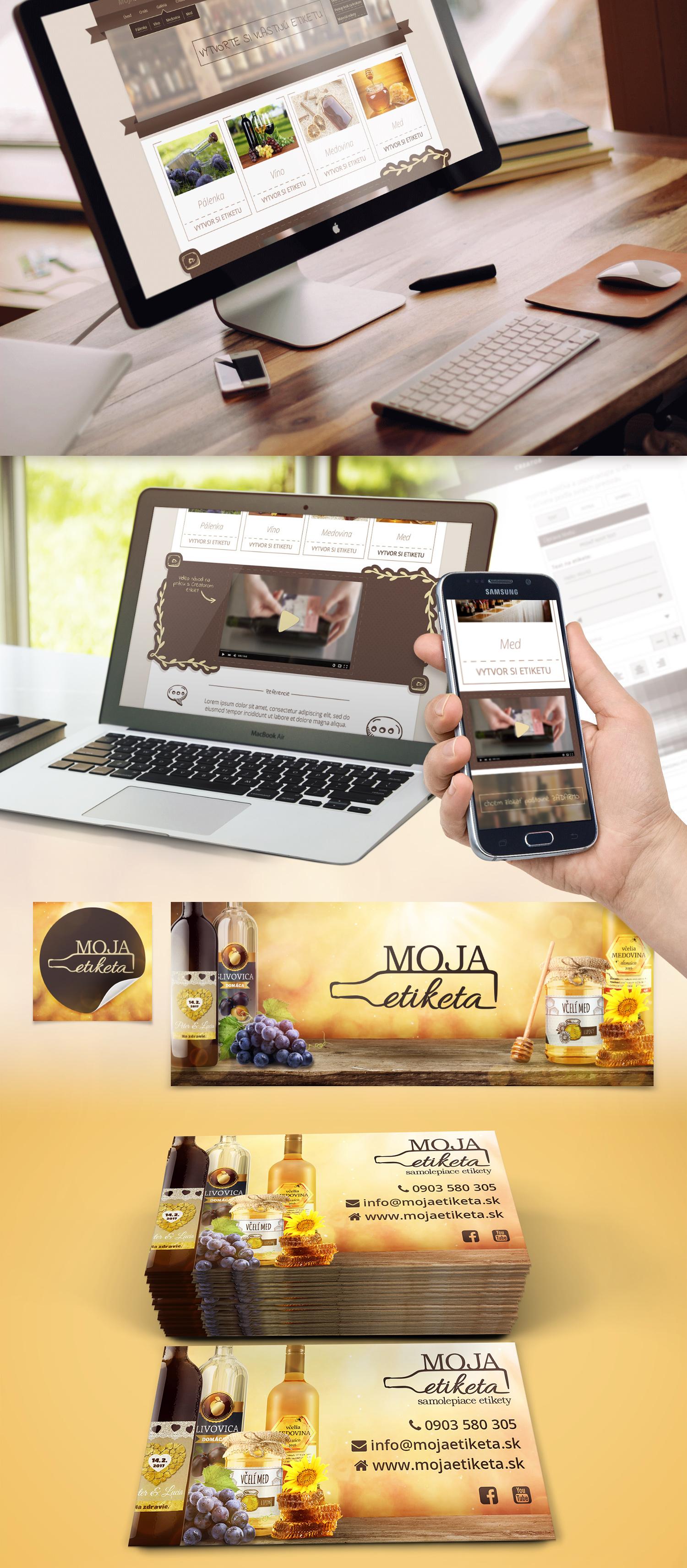 logotyp a webdizajn webovej stranky